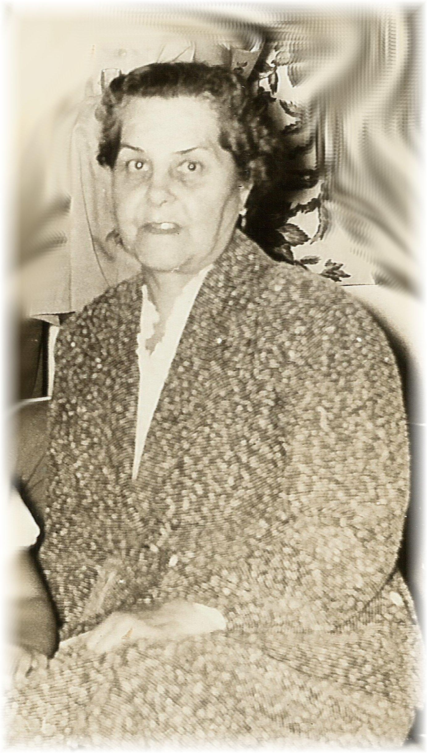 María Hortensia Isaura Barrios Illanes . Proporcionada por Francisco